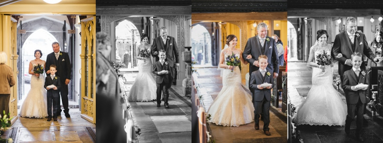 Winter Wedding At Dartmouth Golf And Country Club Devon