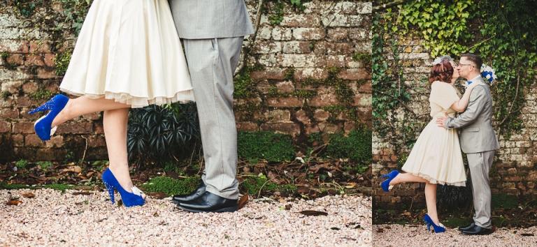 Intimate Wedding Elopement Cockington Court Torquay
