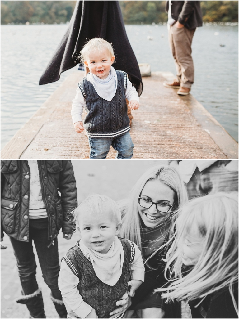 2 Pre Wedding Family Photo Shoot at Decoy Park, Newton Abbot - candid natural toddler portraits