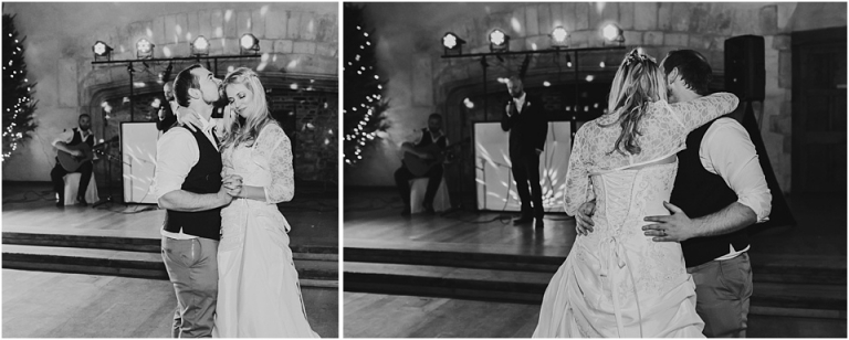 94 dartington hall wedding photography in devon black and white first dance