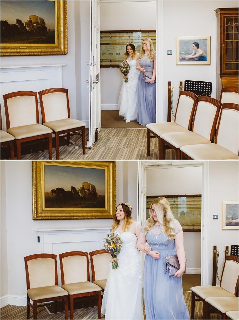 Cockington Court Devon Wedding Photographer (2) Intimate Ceremony