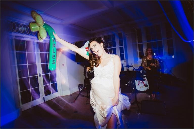 Devon Wedding Photography – Dance Floor Bride (1)