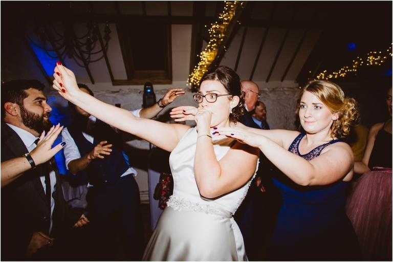 Devon Wedding Photography – Dance Floor Bride (1.7)