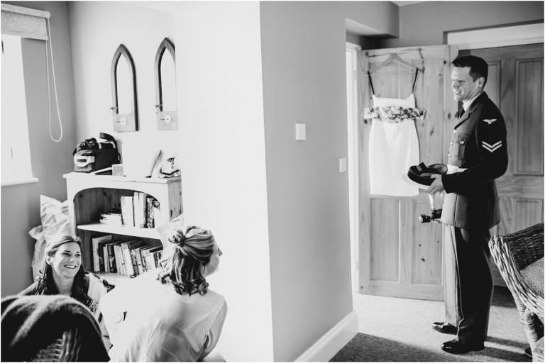 Devon Wedding Photography – DIY Hand Made Wedding at East Soar Salcombe (1) Preparation