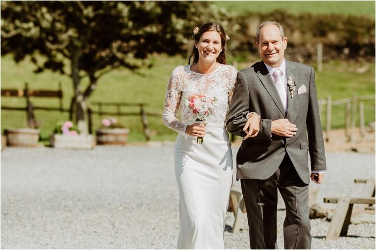 Devon Wedding Photography Diy Hand Made At East Soar Salcombe 23 Walking