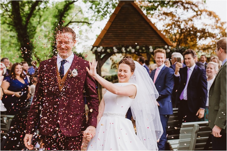 Exeter Devon Wedding Photography – Confetti Tips and Advice (22) Petals