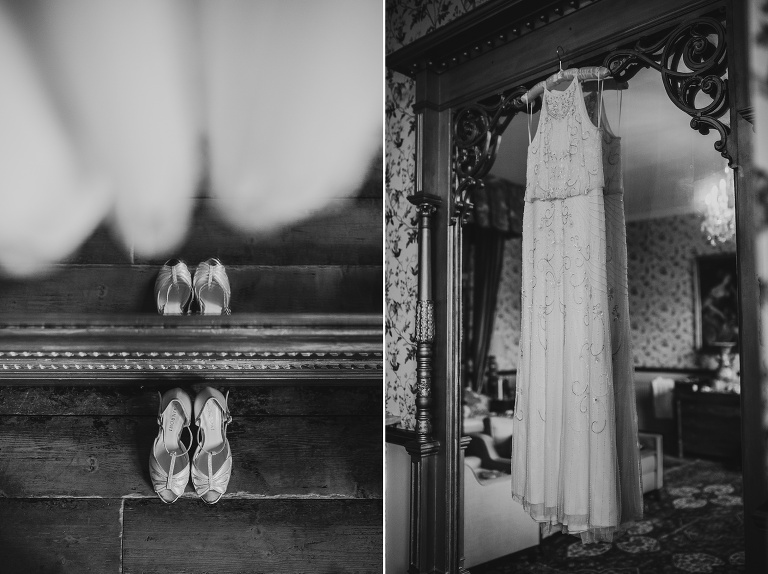 Huntsham Court Wedding Photography Relaxed Art Deco Style Day 1 Bridal Prep